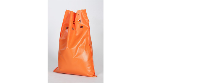Sac de lestage orange renforcé
